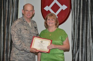 Dawn Williams receives 25 year service award