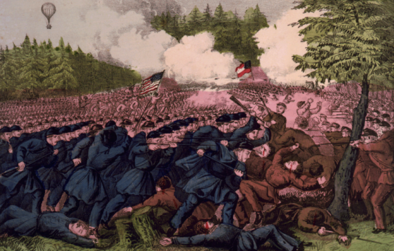 Battle at Seven Pines