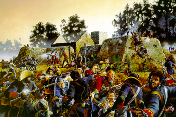 Fort Mose Painting