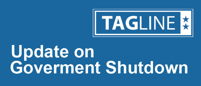 Update on Government Shutdown