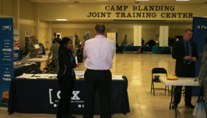 Camp Blanding hosts career fair Feb. 7, 2014 - CSX