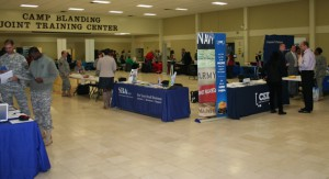 Camp Blanding hosts career fair Feb. 7, 2014