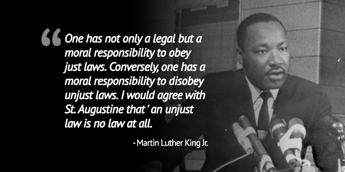 what are just and unjust laws