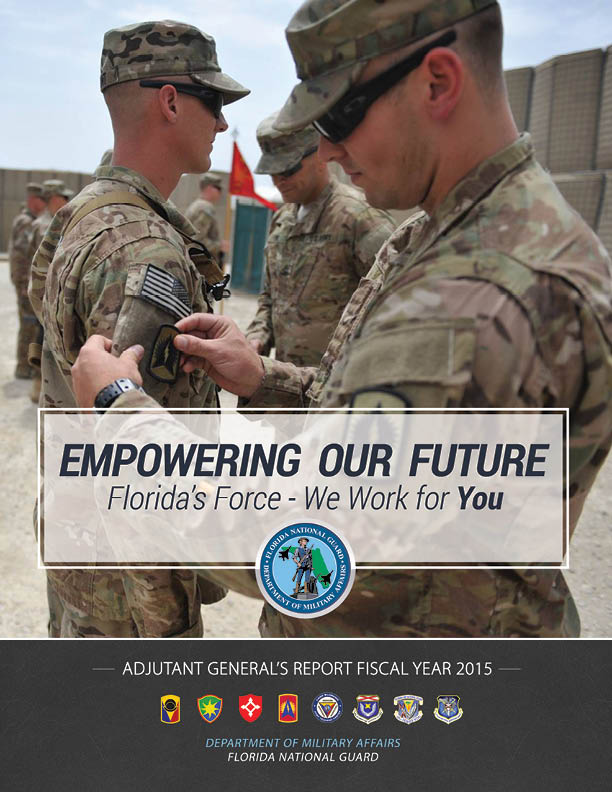 ADJUTANT GENERAL'S ANNUAL REPORT FISCAL YEAR 2015