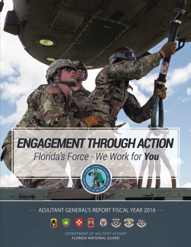 ADJUTANT GENERAL'S ANNUAL REPORT FISCAL YEAR 2016